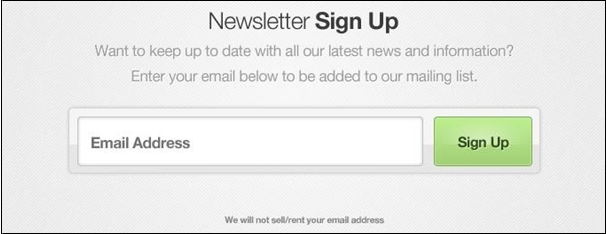 Opt-in Email